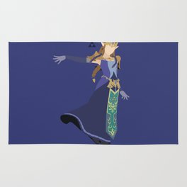 Princess Zelda(Smash)Blue Rug