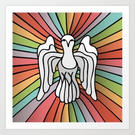 Rainbow Spirit Art Print