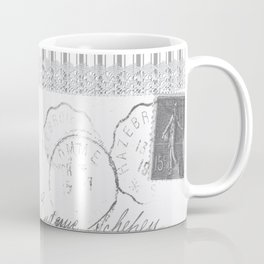 Lucienne in Grey Coffee Mug
