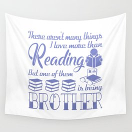 Reading Brother Wall Tapestry