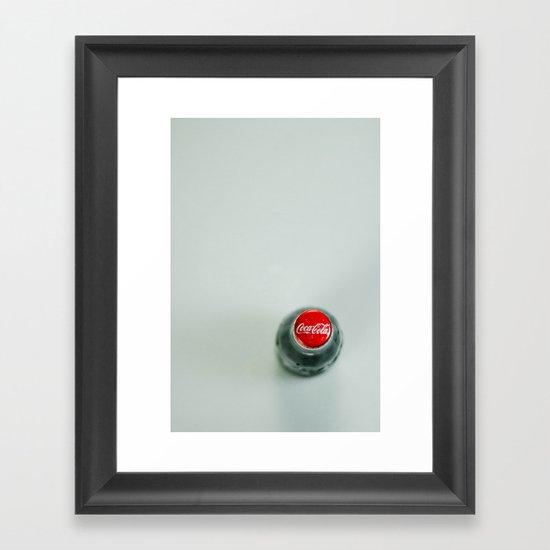 Coca Cola Framed Art Print