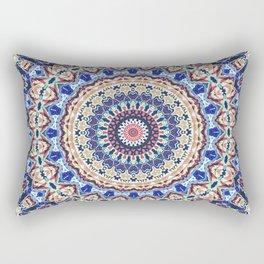 Aztec Geometry Rectangular Pillow
