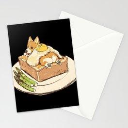 dog on toast Stationery Cards