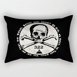 Skull & Bones Rectangular Pillow