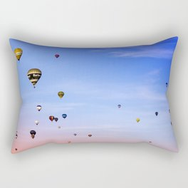 Balloon fiesta Rectangular Pillow
