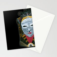 Black MASK Stationery Cards
