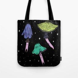 Magic space mushroom Tote Bag
