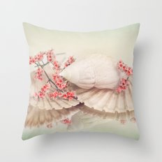 SHELLY DREAM Throw Pillow