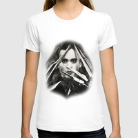 edward scissorhands T-shirts featuring Edward Scissorhands by Whitney Wilkinson