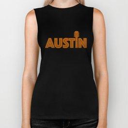 Retro Austin Texas Biker Tank