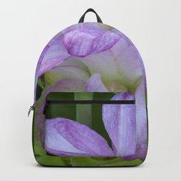 Tropical Pink Flower Backpack
