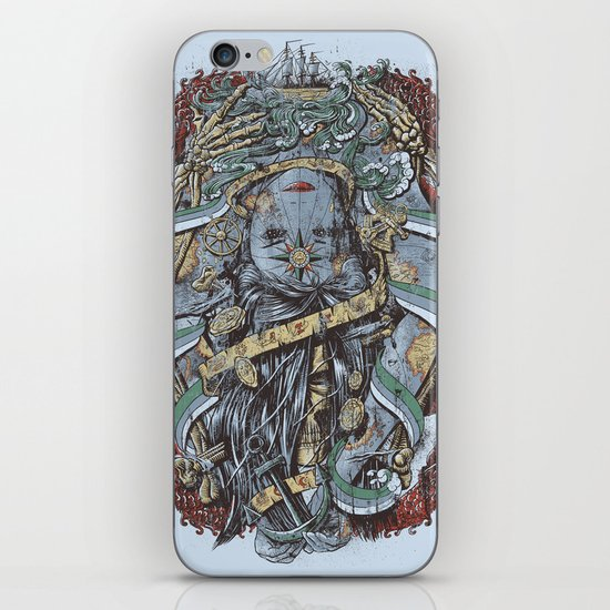 The Sailor & the Syren iPhone & iPod Skin