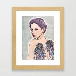 Angel babe Framed Art Print