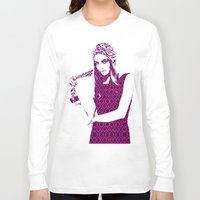 cara delevingne Long Sleeve T-shirts featuring Cara Delevingne by fashionistheonlycure