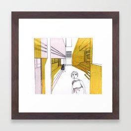 SUMMER GARDEN Framed Art Print