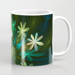 Fantasy Flowers, Fractal Art Coffee Mug