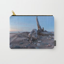 Whitefish Point Beach on Lake Superior Carry-All Pouch