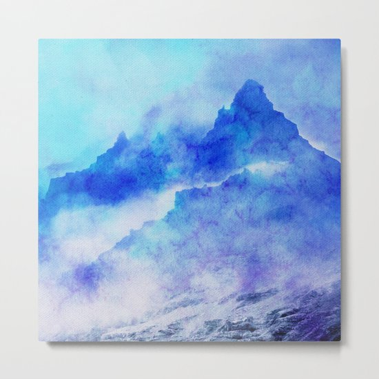 Enchanted Scenery Metal Print