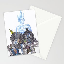 family ties Stationery Cards