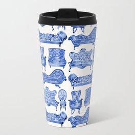 Victorian Lounge – Navy Palette Travel Mug
