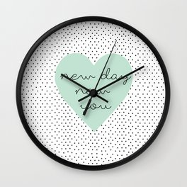 new you Wall Clock