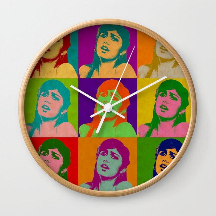 Mia Khalifa Wall Clock