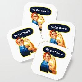 Rosie the Brewer Coaster