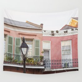 New Orleans Golden Hour in the Quarter Wall Tapestry