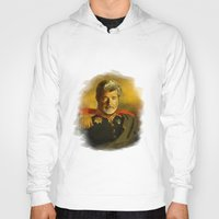 replaceface Hoodies featuring George Lucas - replaceface by replaceface