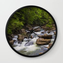 Glade Creek Wall Clock