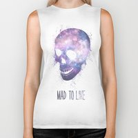 mad Biker Tanks featuring Mad To Live by Mason Denaro