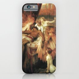 Mourning for Icarus - Draper Herbert James iPhone Case