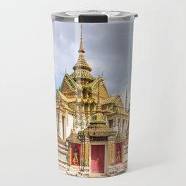 Stupas in Wat Pho, Bangkok, Thailand Travel Mug