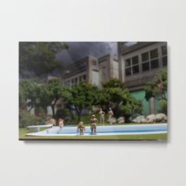 What's that Daddy? Metal Print