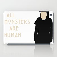 ahs iPad Cases featuring All Monsters Are Human - Sister Jude - AHS: Asylum by Hrern1313