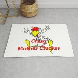 Crazy Mother Clucker Rug