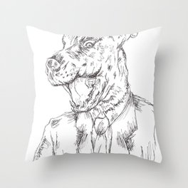 Unleashed 2 Throw Pillow