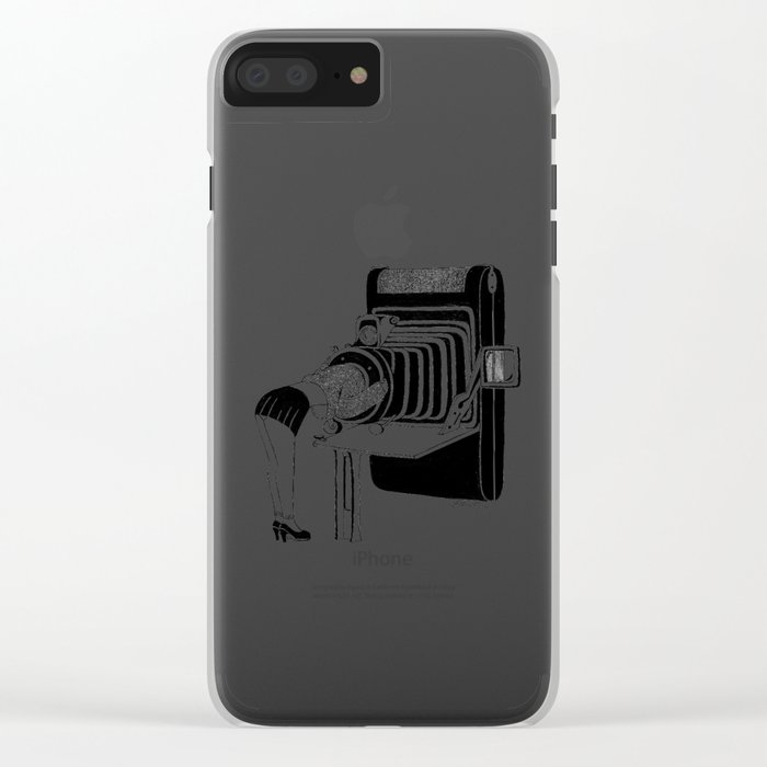 Selfie Clear iPhone Case