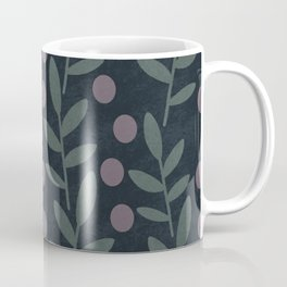 Midnight Leaves Coffee Mug