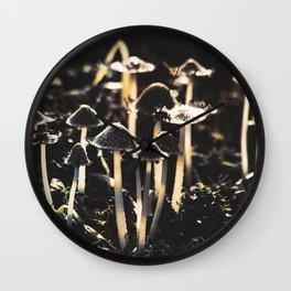 Wild Mushroom's Forest Wall Clock