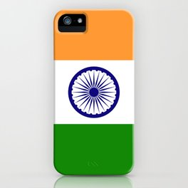 Flag of India - Authentic High Quality Image iPhone Case