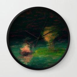 Midnight Meeting Wall Clock