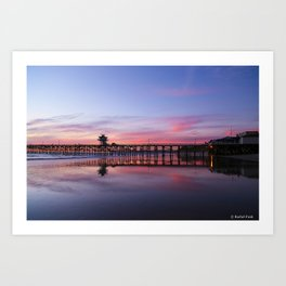 San Clemente Pier  Art Print