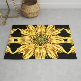 Sunflower Manipulation Rug
