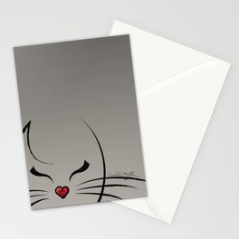 Peek-a-Boo Kitty Stationery Cards