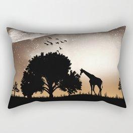 Nature silhouettes Rectangular Pillow