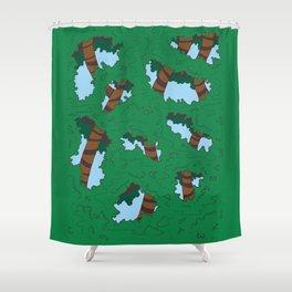 tree people version I Shower Curtain