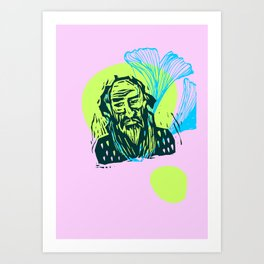 Mr. Dostoevsky Art Print