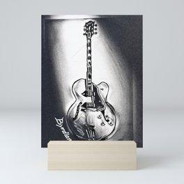 Gibson Byrdland Guitar,  Music Art, Rock & Roll Wall Decor Mini Art Print