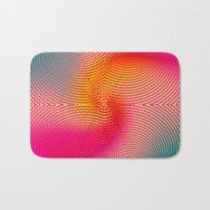 EDM Raver Techno Hynotic Swirl Bath Mat